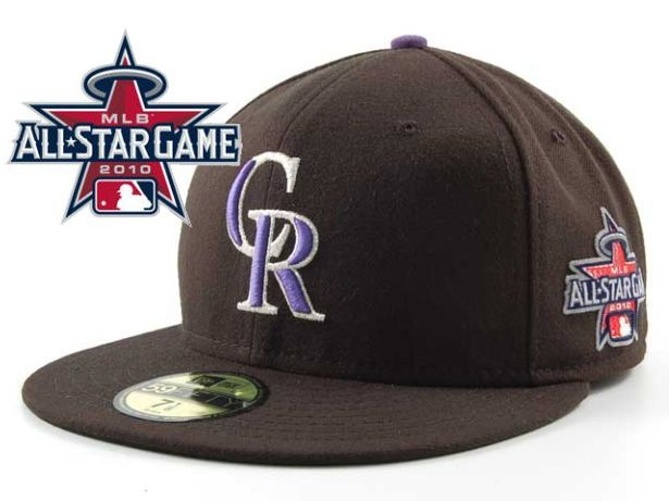 Colorado Rockies 2010 MLB All Star Fitted Hat Sf09